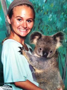 jaimee and koala